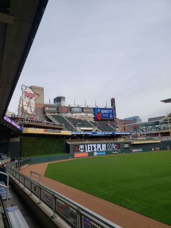 Target Field, section: 128, row: 2, seat: 22-23