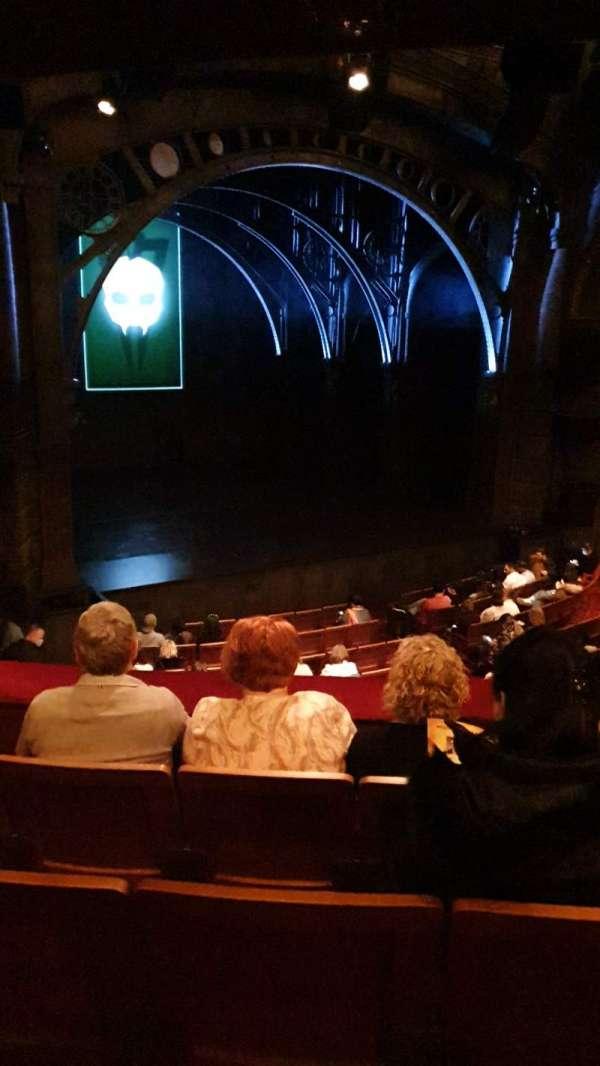 Princess Theatre (Melbourne), section: Dress Circle, row: D, seat: 6