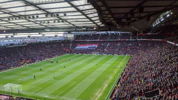 Old Trafford, section: NE3417, row: 16, seat: 142