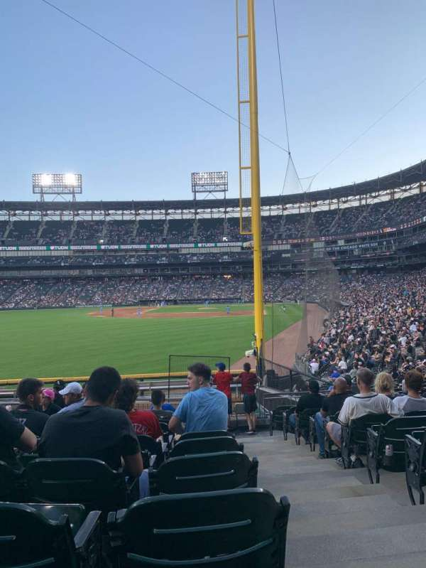 Guaranteed Rate Field, section: 157, row: 19, seat: 1