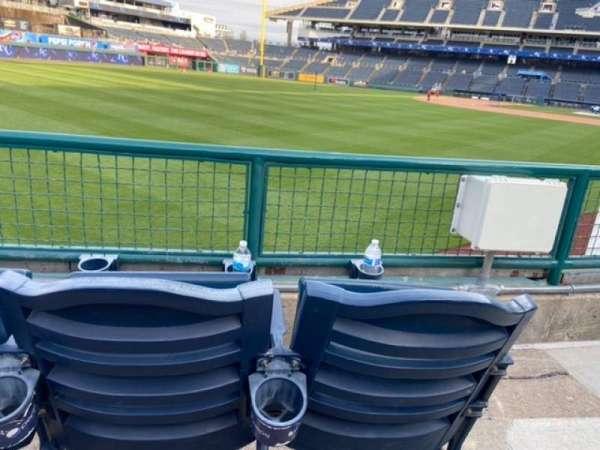 Kauffman Stadium, section: 107, row: J, seat: 13 & 14