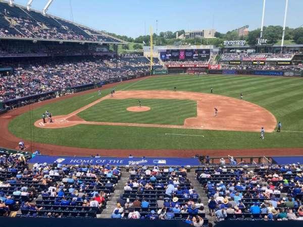 Kauffman Stadium, section: 316, row: A, seat: 12