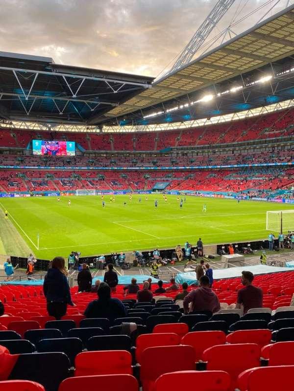 Wembley Stadium, section: 115, row: 29, seat: 90