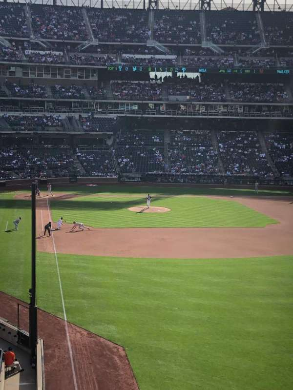 Citi Field, section: 304, row: 1, seat: 12