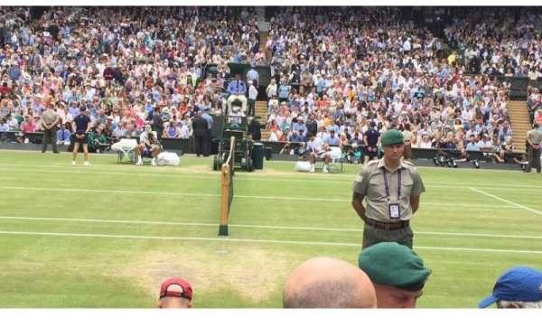 Wimbledon, Centre Court, section: 113, row: 3
