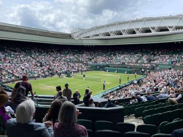 wimbledon, centre court, section: 317, row: L, seat: 414