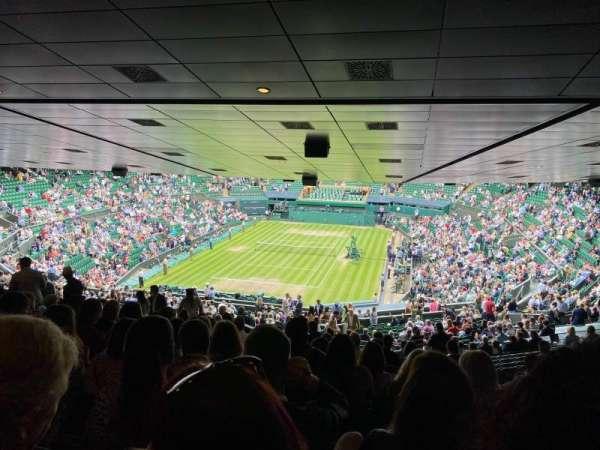 Wimbledon, Centre Court, section: 510, row: ZC, seat: 182