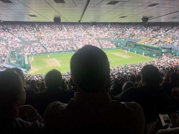 Wimbledon, Centre Court, section: 505, row: Y, seat: 109