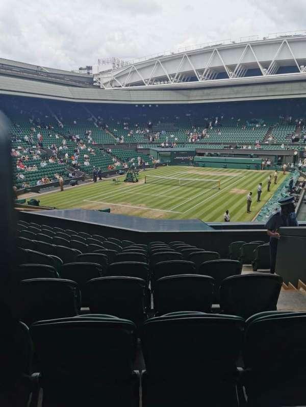 Wimbledon, Centre Court, section: 318, row: K, seat: 422