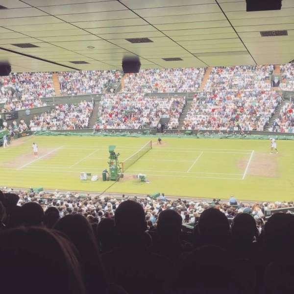 Wimbledon, Centre Court, section: 502, row: ZB, seat: 17