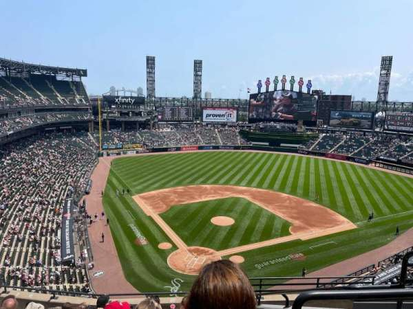 Guaranteed Rate Field, section: 530, row: 8, seat: 4