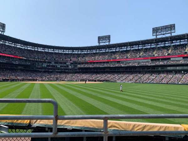 Guaranteed Rate Field, section: 100, row: 2, seat: 10