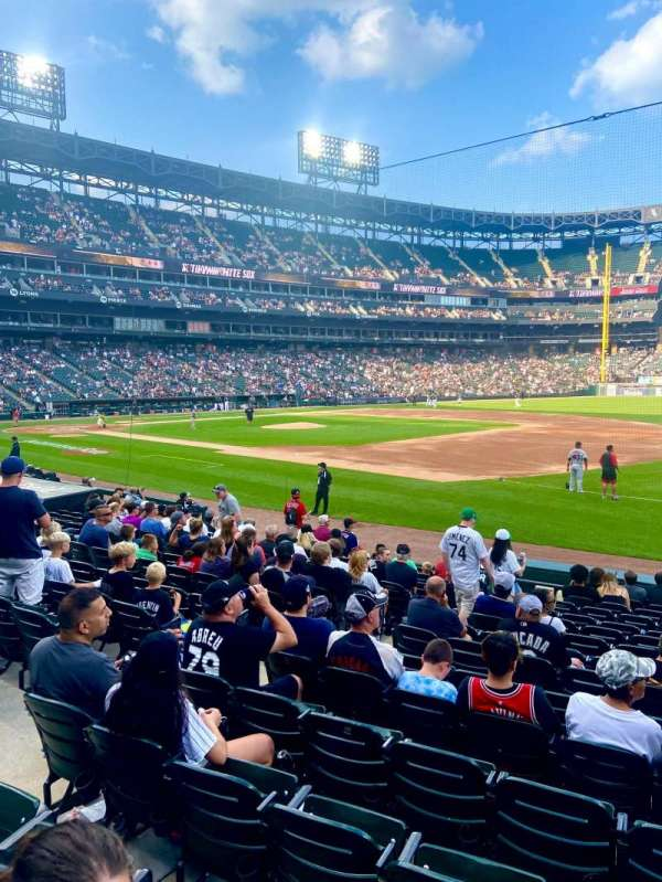 Guaranteed Rate Field, section: 119, row: 14, seat: 5