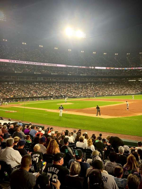 Guaranteed Rate Field, section: 119, row: 14, seat: 6