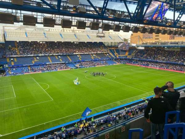 Stamford Bridge, section: West Stand Upper 8, row: 5, seat: 213
