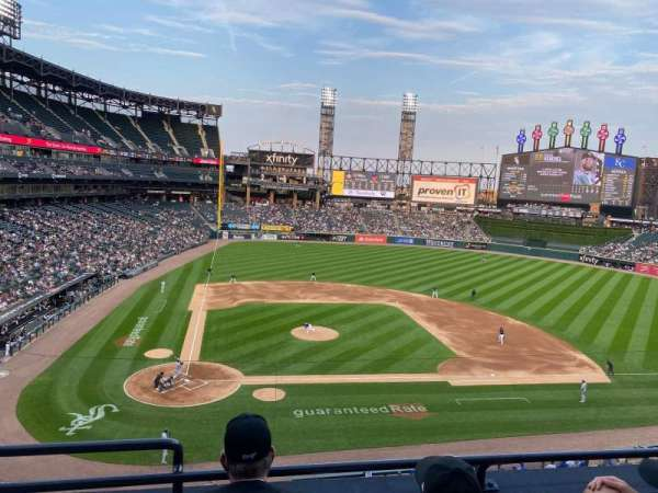 Guaranteed Rate Field, section: 328, row: 3, seat: 14