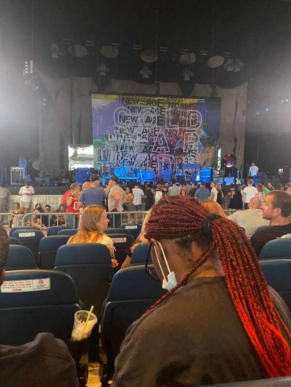 PNC Music Pavilion, section: 2, row: P, seat: 26