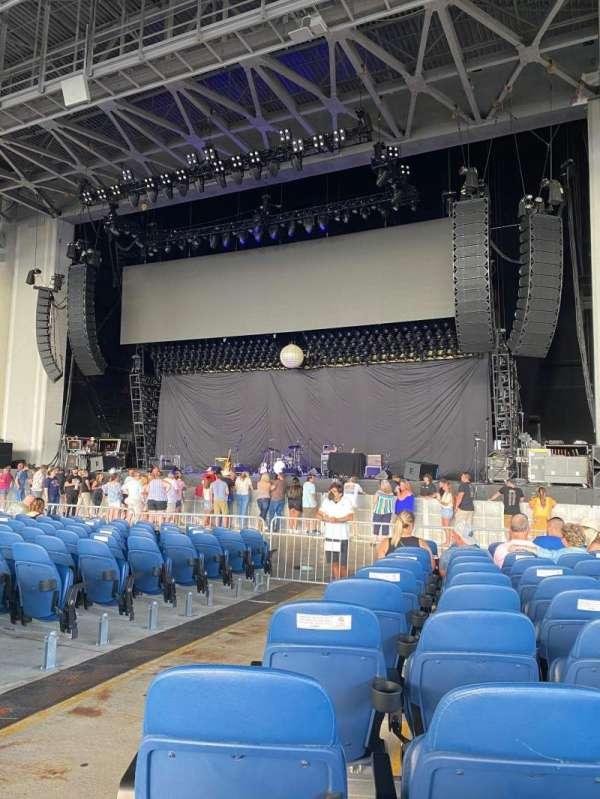 PNC Music Pavilion, section: 1, row: U, seat: 40