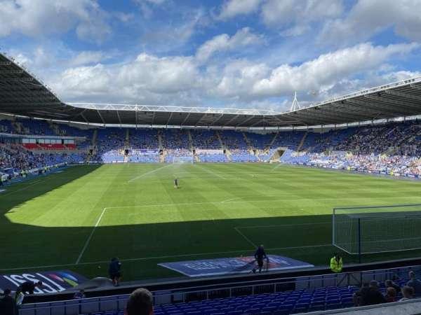 Madejski Stadium, section: 31, row: S, seat: 157