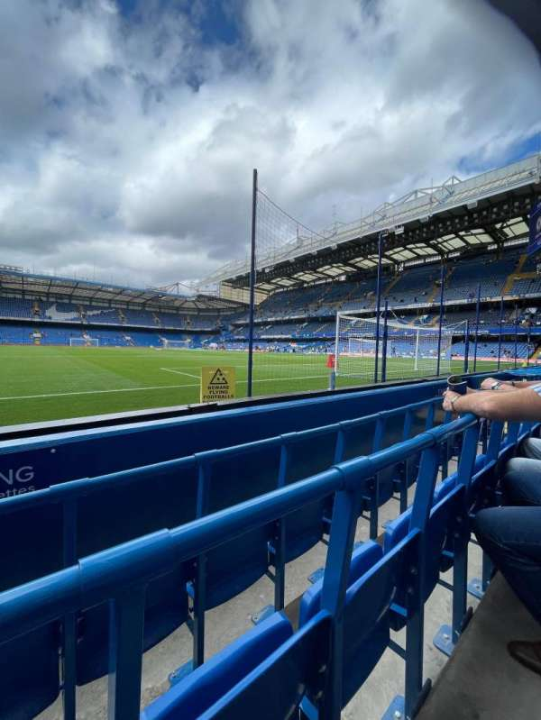 Stamford Bridge, section: shed end lower 5, row: 3, seat: 136