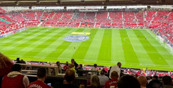 Old Trafford, section: N3406, row: 27, seat: 69