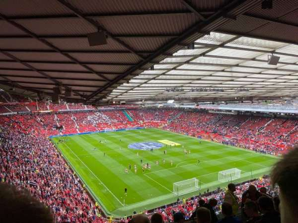 Old Trafford, section: NW3432, row: 28, seat: 35