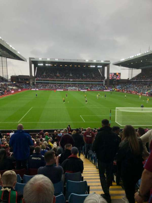 Villa Park, section: L6, row: AA, seat: 158