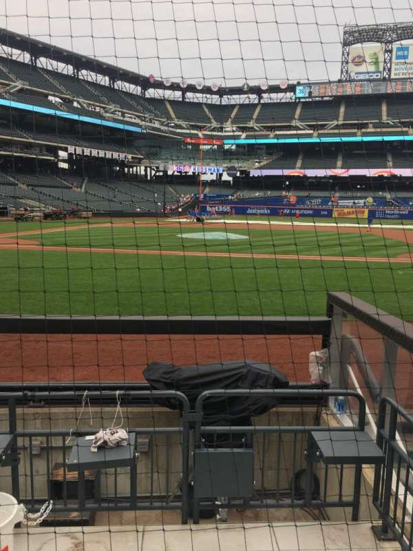 Citi Field, section: 114, row: 1, seat: 6