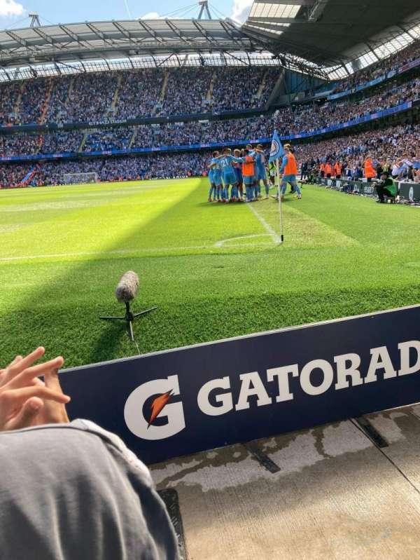 Etihad Stadium (Manchester), section: 134, row: 2, seat: 933