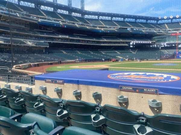 Citi Field, section: 114, row: 3, seat: 15