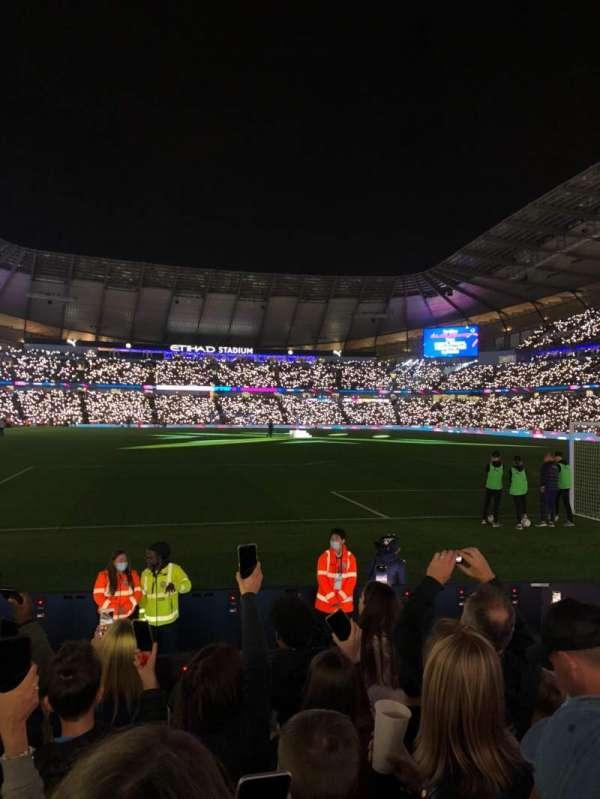 Etihad Stadium (Manchester), section: 117, row: G, seat: 451