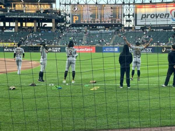 Guaranteed Rate Field, section: 120, row: 2, seat: 5