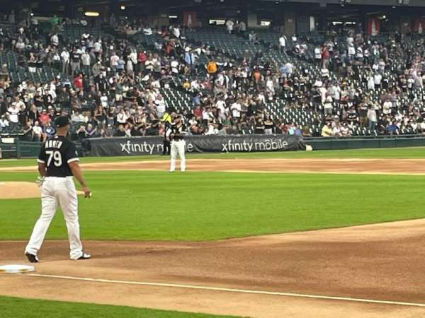 Guaranteed Rate Field, section: 120, row: 2, seat: 6