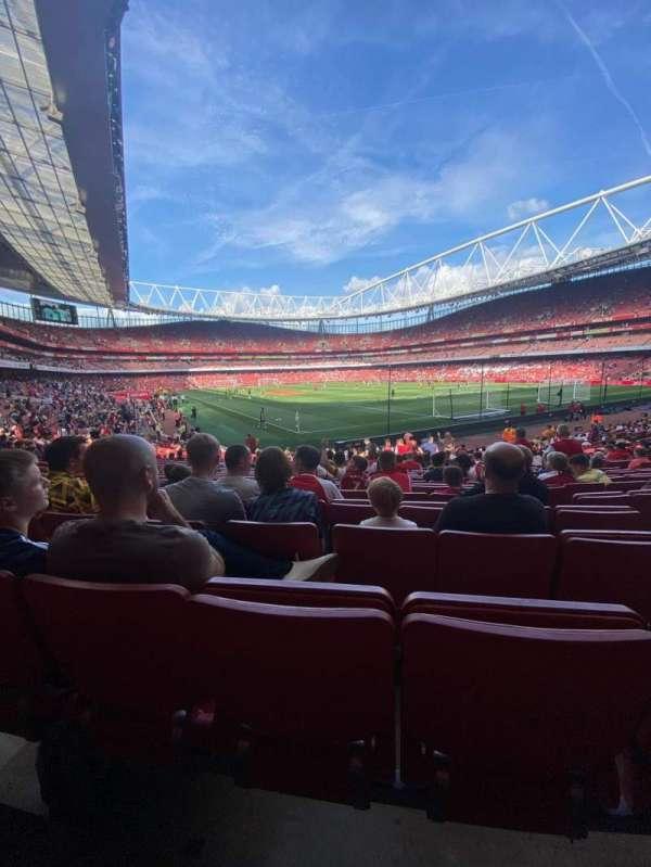 Emirates Stadium, section: 27, row: 23, seat: 854