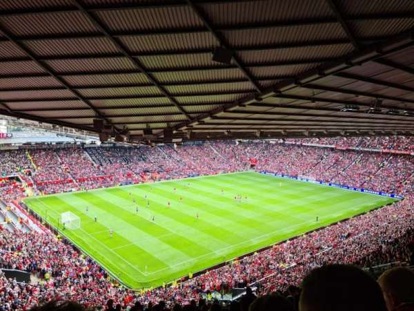 Old Trafford, section: NE3426, row: 28, seat: 55