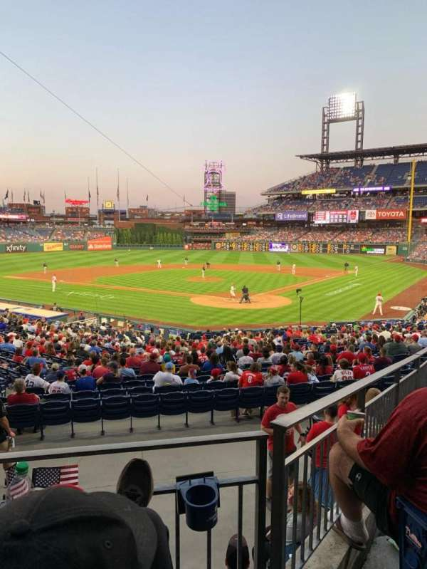 Citizens Bank Park, section: 125, row: 28, seat: 9