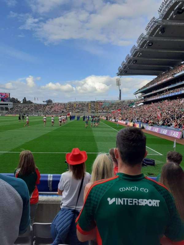 Croke Park, section: 316, row: F, seat: 7