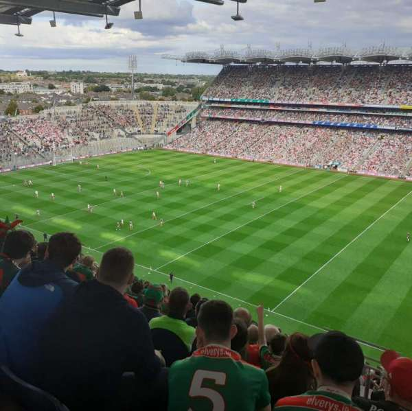 Croke Park, section: 728, row: R, seat: 19