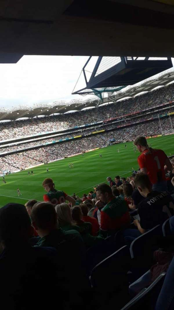 Croke Park, section: 334, row: RR, seat: 11