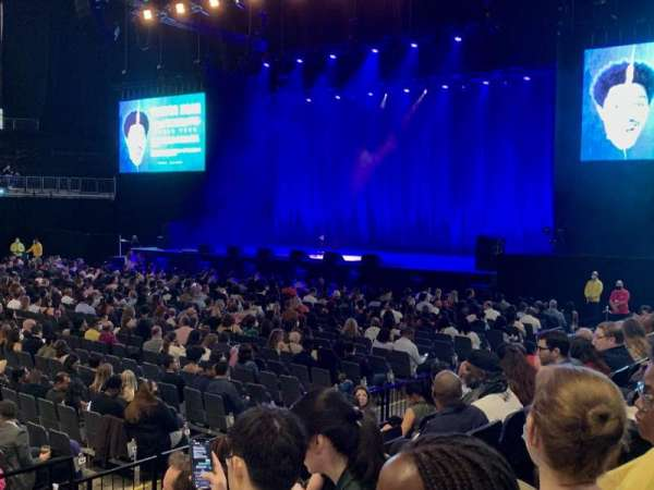 The O2 Arena, section: 111, row: G, seat: 355