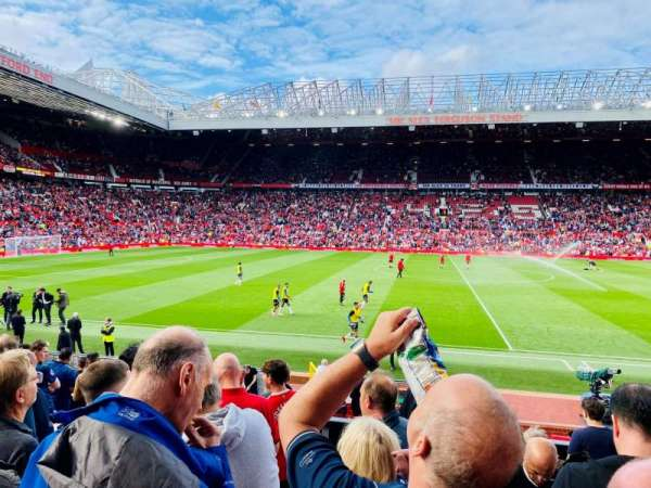 Old Trafford, section: STH124, row: 11, seat: 138
