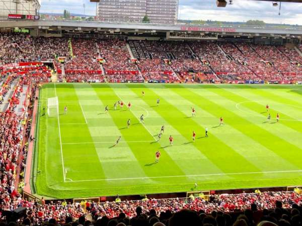 Old Trafford, section: N3401, row: 15, seat: 240