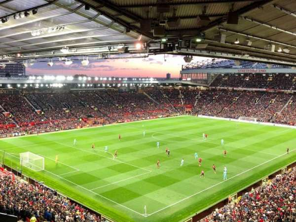 Old Trafford, section: NE3418, row: 12, seat: 59
