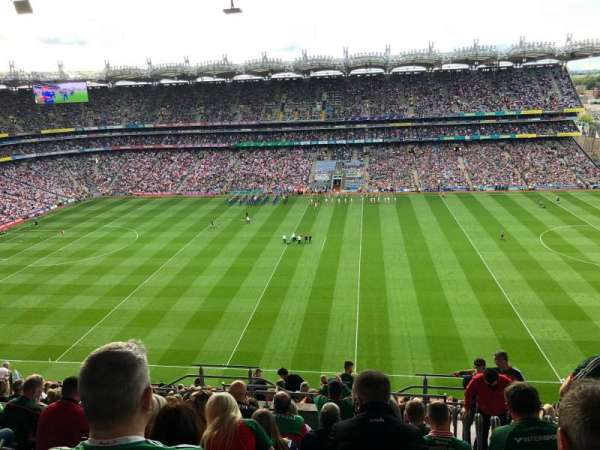 Croke Park, section: 705, row: S, seat: 17