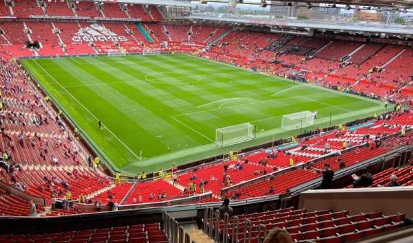 Old Trafford, section: NW3434, row: 16(front row), seat: 24