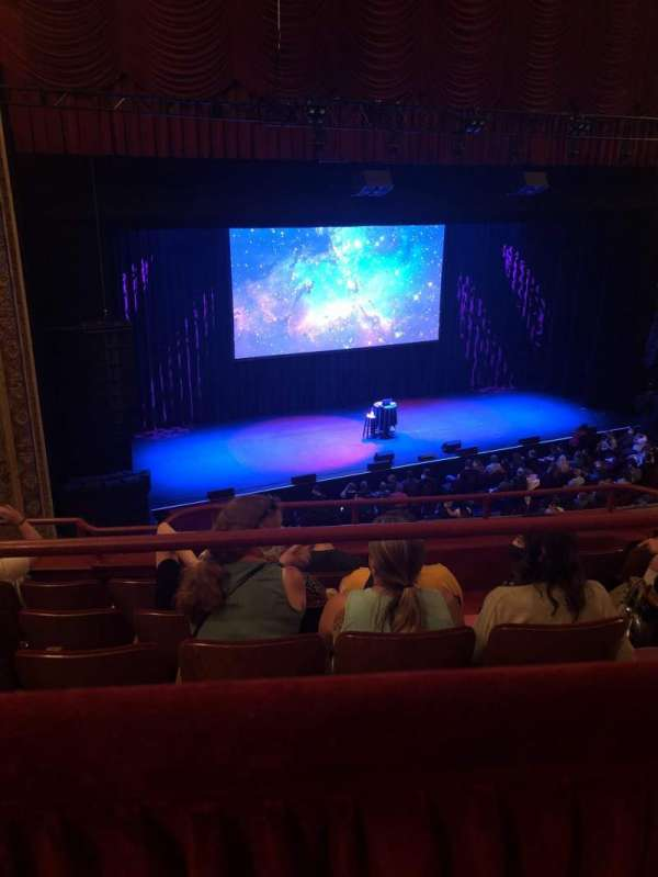 Chicago Theatre, section: Balcony2L, row: A, seat: 209