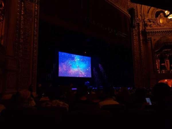 Chicago Theatre, section: MNFL2L, row: E, seat: 217