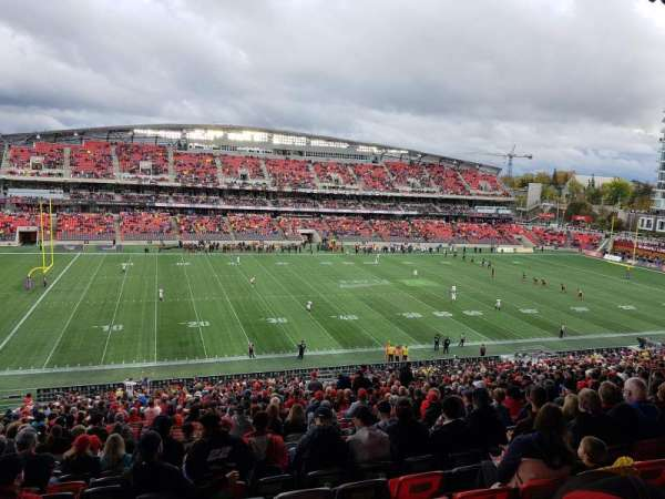 TD Place Stadium, section: GG, row: 10, seat: 18