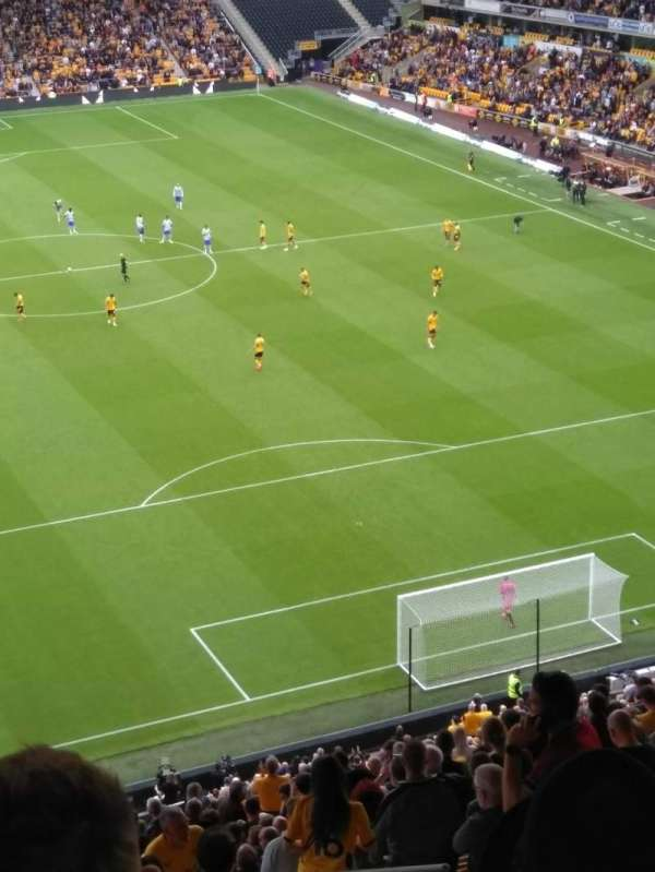 Molineux Stadium, section: NU5, row: Z, seat: 130