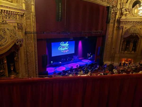 Chicago Theatre, section: BALC1L, row: G, seat: 113